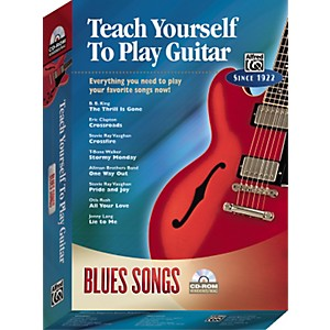 Alfred-Teach-Yourself-To-Play-Guitar--Blues-Songs--CD-ROM--Standard