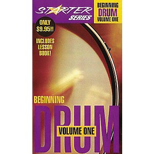 Hal-Leonard-Starter-Series-Beginning-Drum-Package-Volume-1-Video-Standard