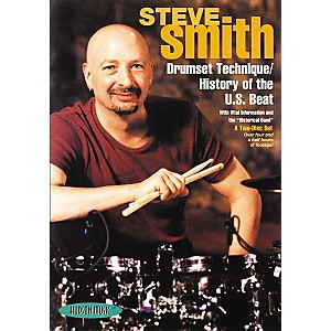 Hudson-Music-Steve-Smith--Drumset-Technique-History-of-the-U-S--Beat--2-DVD-Set--Standard