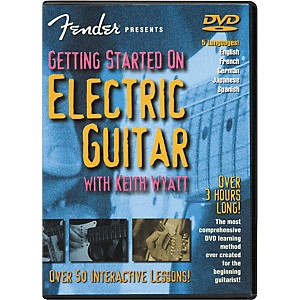 Fender-Getting-Started-On-Electric-Guitar-DVD-Standard