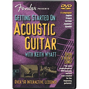 Fender-Getting-Started-On-Acoustic-Guitar-DVD-Standard