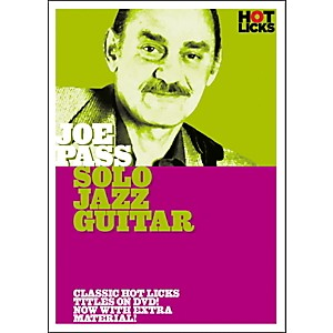 Hot-Licks-Joe-Pass--Solo-Jazz-Guitar-DVD-Standard