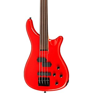 Rogue-LX200BF-Fretless-Series-III-Electric-Bass-Guitar-Candy-Apple-Red