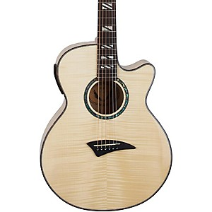 Dean-Performer-Flame-Maple-Acoustic-Electric-Guitar-with-Aphex-Natural