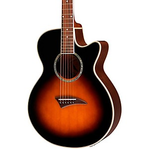 Dean-Performer-Acoustic-Electric-Guitar-Tobacco-Burst