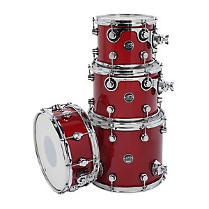 DW-Performance-Series-TomPack-4-Candy-Apple-Lacquer