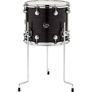 DW-Performance-Series-Floor-Tom-12x14-Ebony-Stain-Lacquer