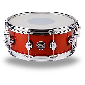 DW-Performance-Series-Snare-Drum-14x5-5-Inch-Candy-Apple-Lacquer