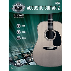 Alfred-PLAY-Series--Acoustic-Guitar-2-Book---DVD-Standard