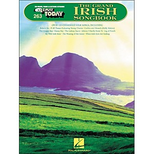 Hal-Leonard-The-Grand-Irish-Songbook-E-Z-Play-263-Standard