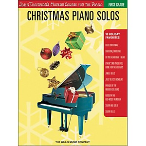 Willis-Music-John-Thompson-s-Modern-Course-for-the-Piano---Christmas-Piano-Solos-First-Grade-Standard