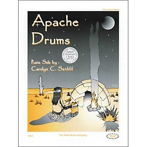 Willis-Music-Apache-Drums-Early-Intermediate-Piano-Solo-by-Carolyn-Setliff-Standard
