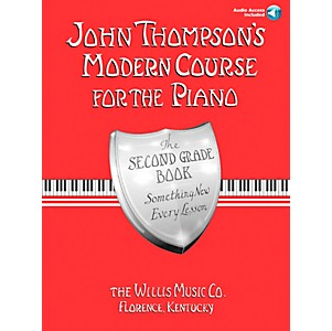 Willis-Music-John-Thompson-s-Modern-Course-For-Piano-Grade-2-Book-CD-Standard
