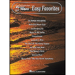 Hal-Leonard-Easy-Favorites-E-Z-Play-157-Standard