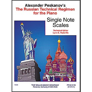 Willis-Music-Russian-Technical-Regimen-Volume-1-by-Alexander-Peskanov-Standard