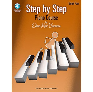Willis-Music-Step-By-Step-Piano-Course-Book-4-Book-CD-Standard
