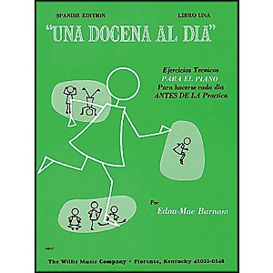 Willis-Music-A-Dozen-A-Day-Book-1--Spanish-Edition--Una-Docena-Al-Dia-Book-One-Piano-Standard