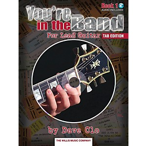 Willis-Music-You-re-In-The-Band-Lead-Guitar-Book-1-Tab-Edition-Book-CD-Standard