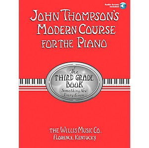 Willis-Music-John-Thompson-s-Modern-Course-For-Piano-Grade-3-Book-CD-Standard