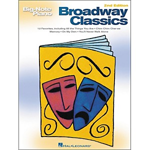Hal-Leonard-Broadway-Classics-For-Big-Note-Piano-2nd-Edition-Standard