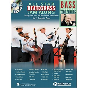 Homespun-All-Star-Bluegrass-Jam-Along-For-Bass-Book-CD-Standard