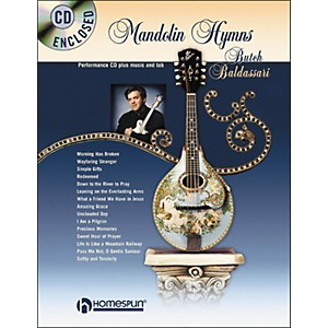 Homespun-Mandolin-Hymns--Book-CD--Standard