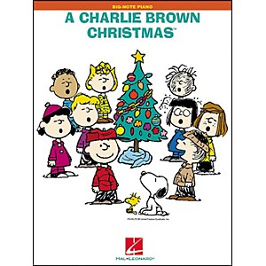 Hal-Leonard-A-Charlie-Brown-Christmas-For-Big-Note-Piano-Standard