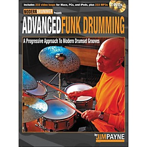 Hal-Leonard-Advanced-Funk-Drumming-Book-2DVD-Set-Standard