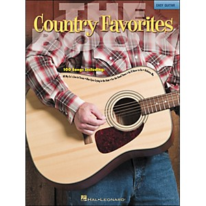 Hal-Leonard-The-Country-Favorites-Book---Easy-Guitar--No-Tab--Standard