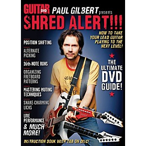 Alfred-Guitar-World-Paul-Gilbert-presents-Shred-Alert--DVD-Standard