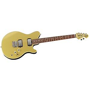 Music-Man-Reflex-HH-Electric-Guitar-Vintage-Gold-Rosewood-Fretboard