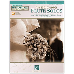 Hal-Leonard-Wedding-Flute-Solos---Wedding-Essentials-Series--Book-CD--Standard