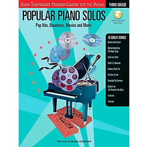 Willis-Music-John-Thompson-s-Modern-Course-For-Piano---Popular-Piano-Solos-Grade-3-Book-CD-Standard