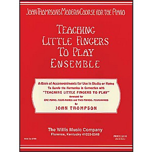 Willis-Music-Teaching-Little-Fingers-To-Play-Ensemble---1-And-2-Pianos--4-Hands-Standard