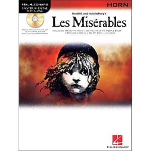 Hal-Leonard-Les-Miserables-For-French-Horn---Instrumental-Play-Along-Book-CD-Pkg-Standard