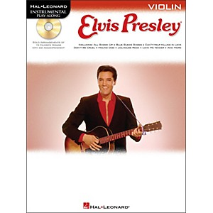 Hal-Leonard-Elvis-Presley-For-Violin---Instrumental-Play-Along-Book-CD-Pkg-Standard