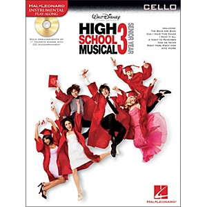 Hal-Leonard-High-School-Musical-3-For-Cello---Instrumental-Play-Along-CD-Pkg-Standard