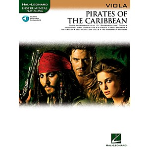 Hal-Leonard-Pirates-Of-The-Caribbean-For-Viola-Instrumental-Play--Along-Book-CD-Standard