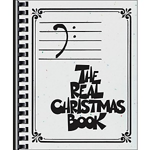 Hal-Leonard-The-Real-Christmas-Book---Bass-Clef-Edition-Standard