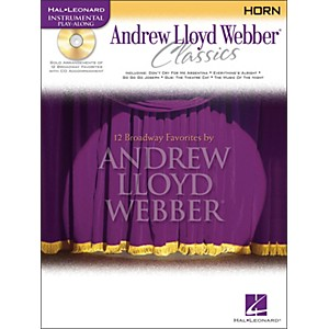 Hal-Leonard-Andrew-Lloyd-Webber-Classics-For-French-Horn-Book-CD-Standard