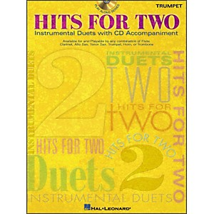 Hal-Leonard-Hits-For-Two-Instrumental-Duets-For-Trumpet-Book-CD-Standard