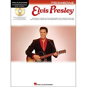 Hal-Leonard-Elvis-Presley-For-Trombone---Instrumental-Play-Along-Book-CD-Pkg-Standard