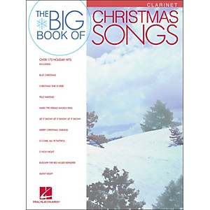 Hal-Leonard-Big-Book-Of-Christmas-Songs-For-Clarinet-Standard
