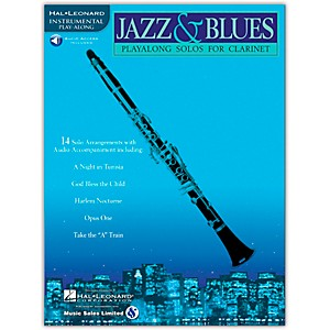 Hal-Leonard-Jazz---Blues-Playalong-Solos-for-Clarinet--Book-CD--Standard