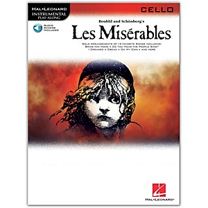 Hal-Leonard-Les-Miserables-For-Cello---Instrumental-Play-Along-Book-CD-Standard