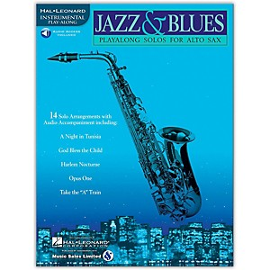 Hal-Leonard-Jazz-And-Blues-Playalong-Solos-For-Alto-Sax-Book-CD-Standard