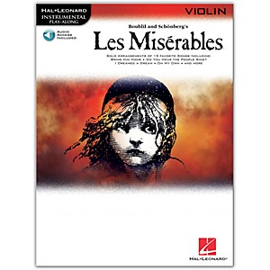 Hal-Leonard-Les-Miserables-For-Violin---Instrumental-Play-Along-Book-CD-Standard