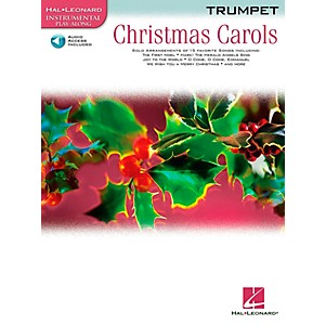 Hal-Leonard-Christmas-Carols-For-Trumpet-Book-CD-Standard