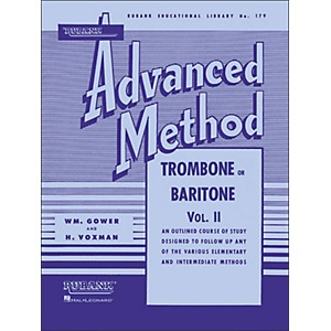 Hal-Leonard-Rubank-Advanced-Method-For-Trombone-Or-Baritone-Volume-2-Standard