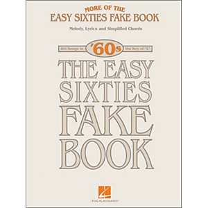 Hal-Leonard-More-Of-The-Easy-60-s-Fake-Book-Standard